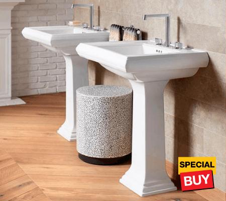 Bath savings bathroom sinks