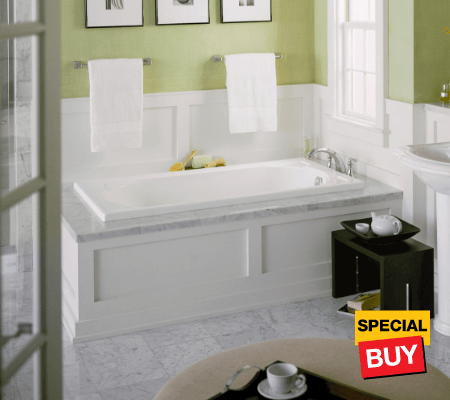 Bath savings tubs