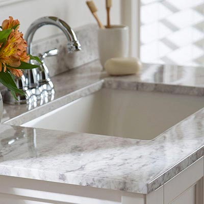 Vanity tops with sinks