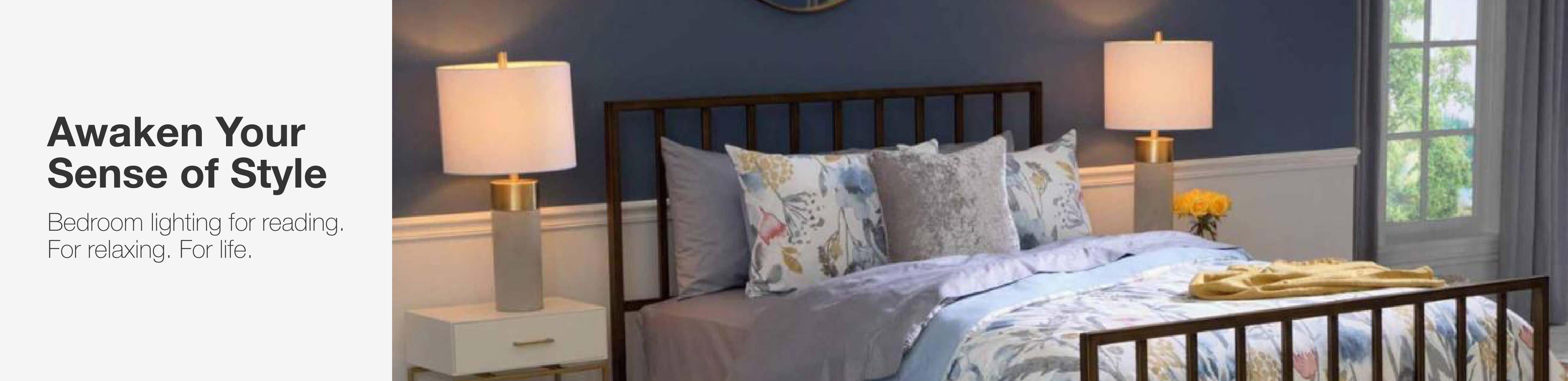 Image of: Bedroom Lighting The Home Depot