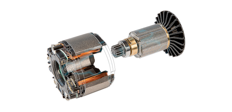Benefits of brushless motors