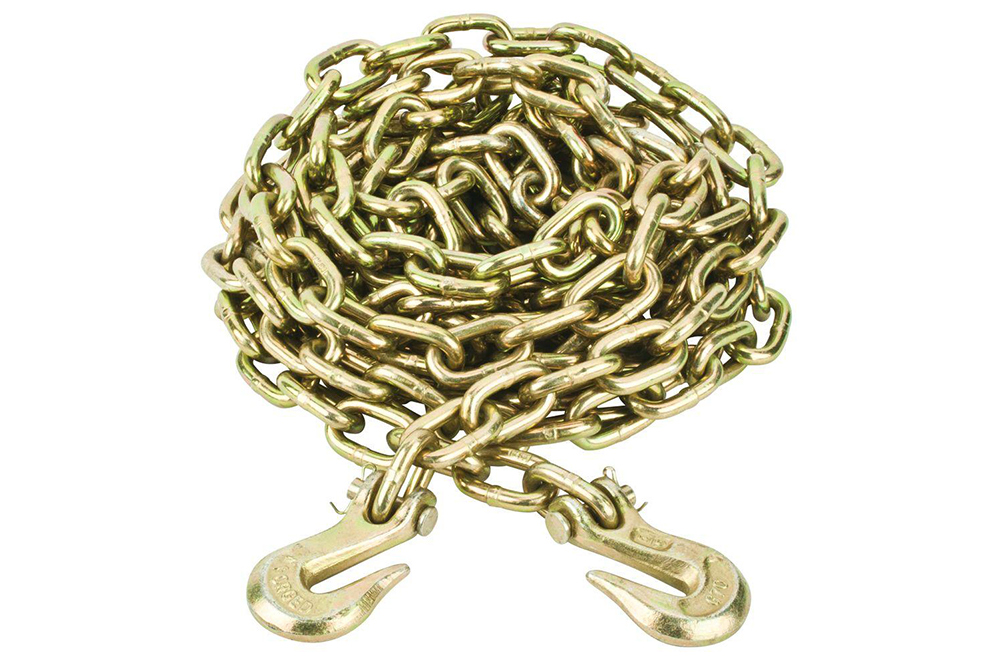 50 FT Carton Perfection Chain Products 30011 #18 Single Jack Chain Bright Galvanized