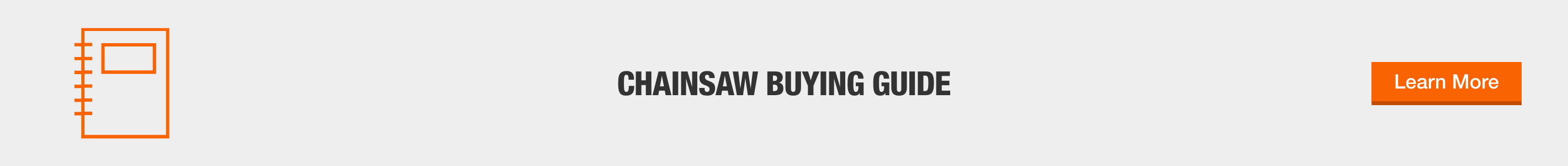 CHAINSAW BUYING GUIDE - Explore Now
