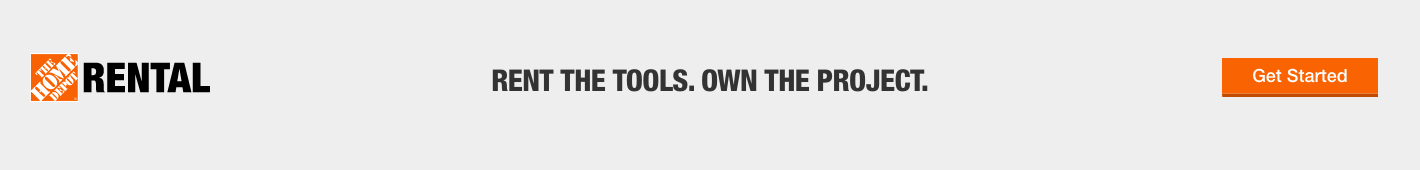 RENT THE TOOLS. OWN THE PROJECT. Get Started