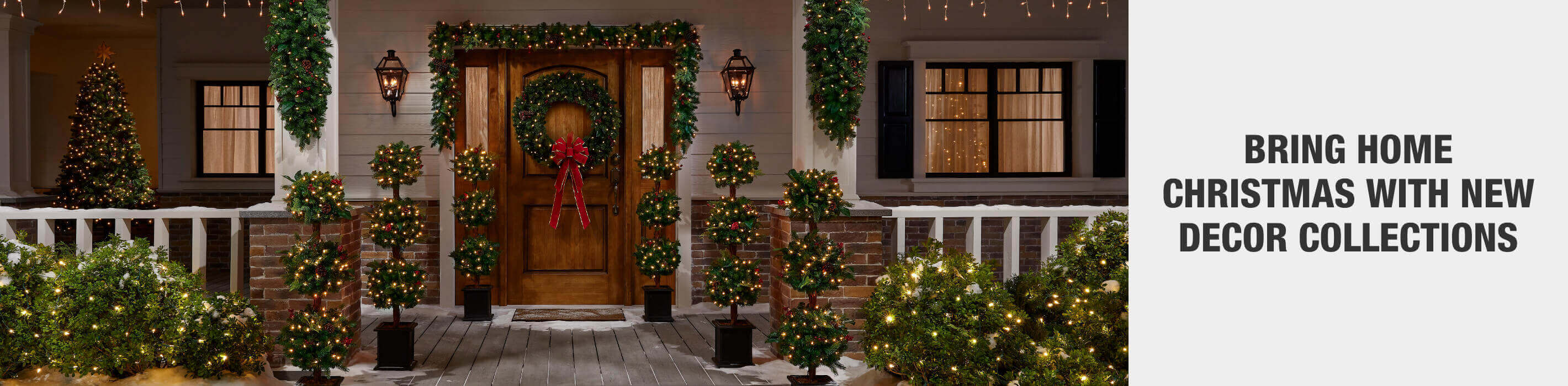 BRING HOME CHRISTMAS WITH NEW DECOR COLLECTIONS