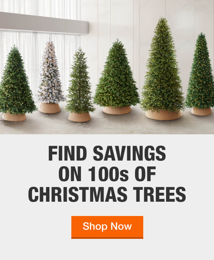 Christmas Trees The Home Depot