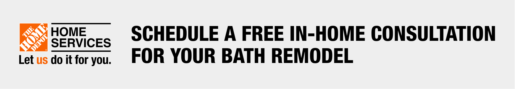 Schedule a free in-home consulation for your bath remodel