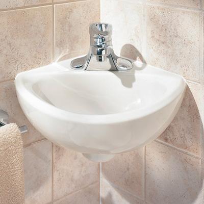 Corner sinks