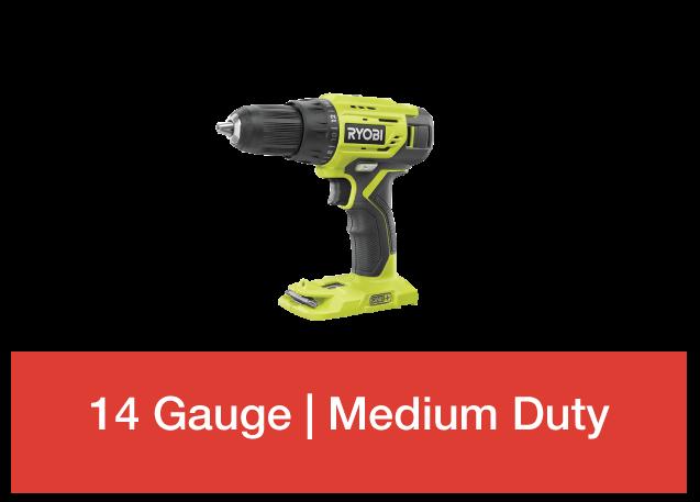 14 gauge medium duty
