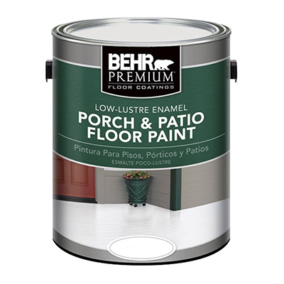 Porch & patio floor paint