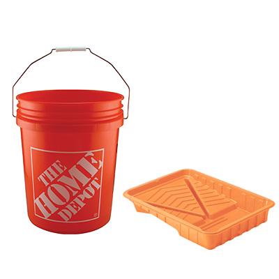 Buckets & trays