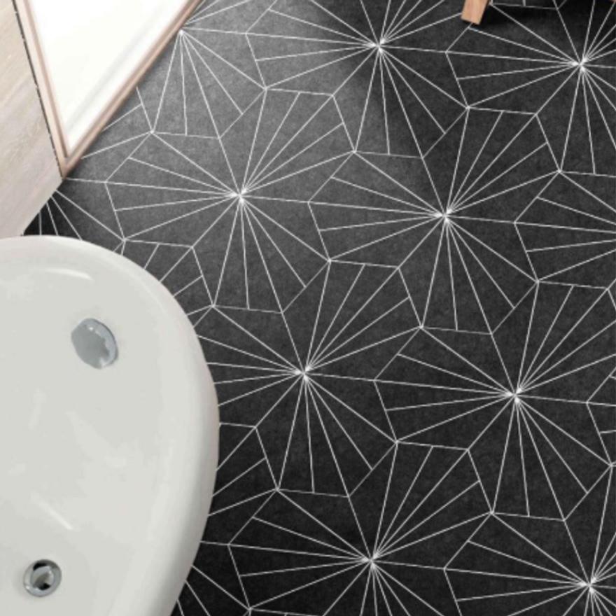 Geo Pattern Flooring