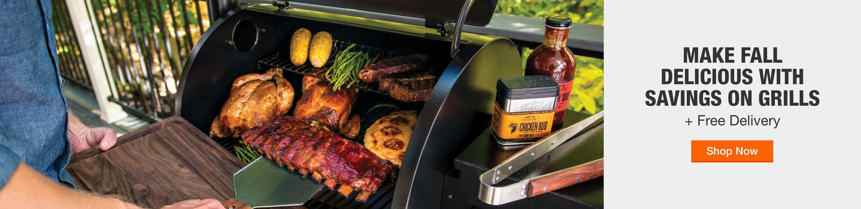 MAKE FALL DELICIOUS WITH SAVINGS ON GRILLS + Free Delivery. Shop Now