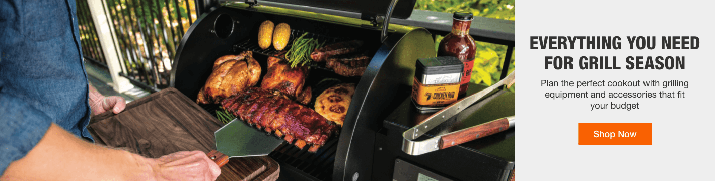 Everything You Need for Grill Season - Plan the perfect cookout with grilling equipment and accessories that fit your budget. Shop Now
