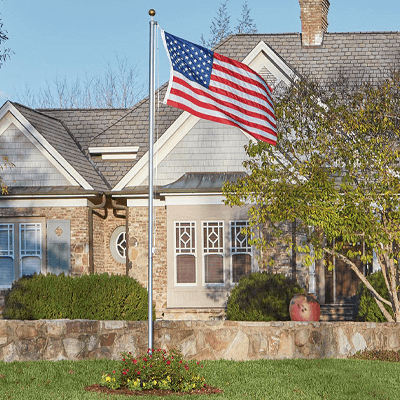 How to Install a Flagpole