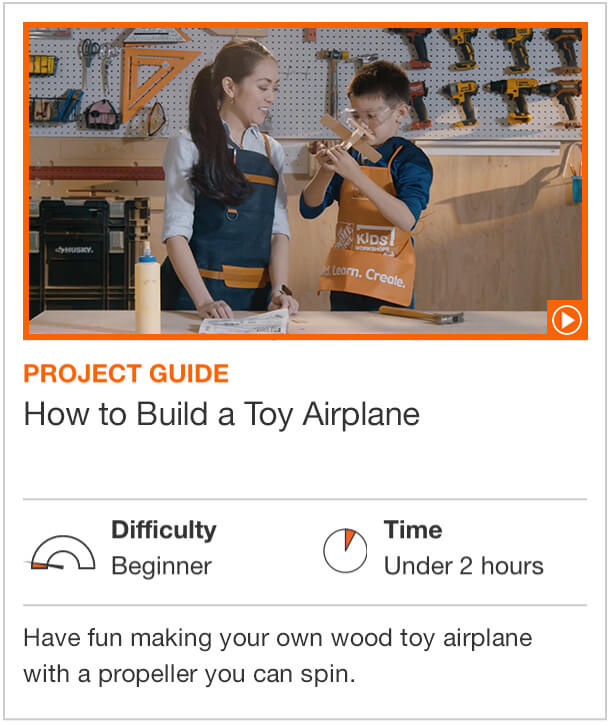 How to Build a Toy Airplane  Have fun making your own wood toy airplane with a propeller you can spin.