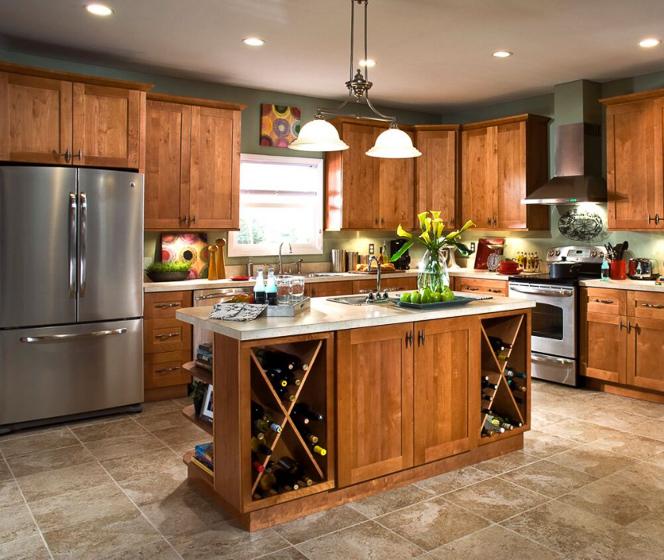 Home Decorators Collection Hargrove Cinnamon Cabinets