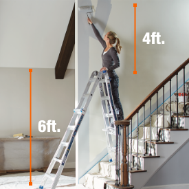 Ladders by height