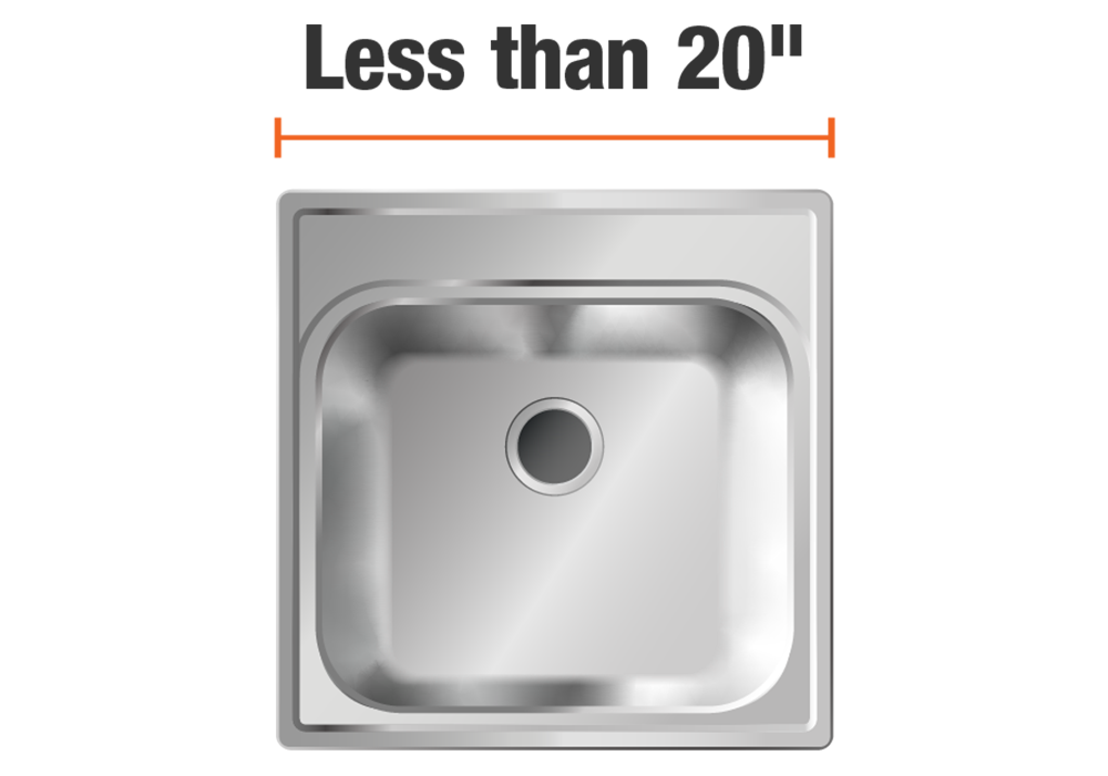 15 to 20 inch sinks