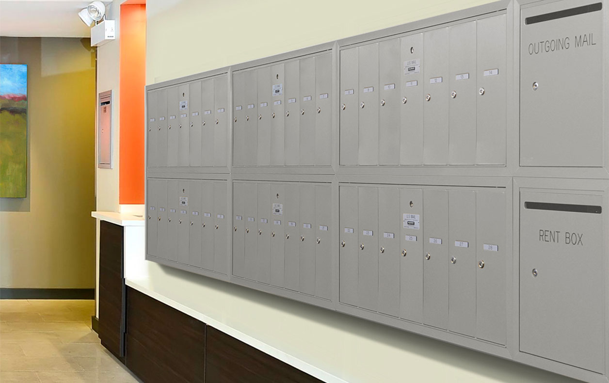Multi-unit parcel lockers