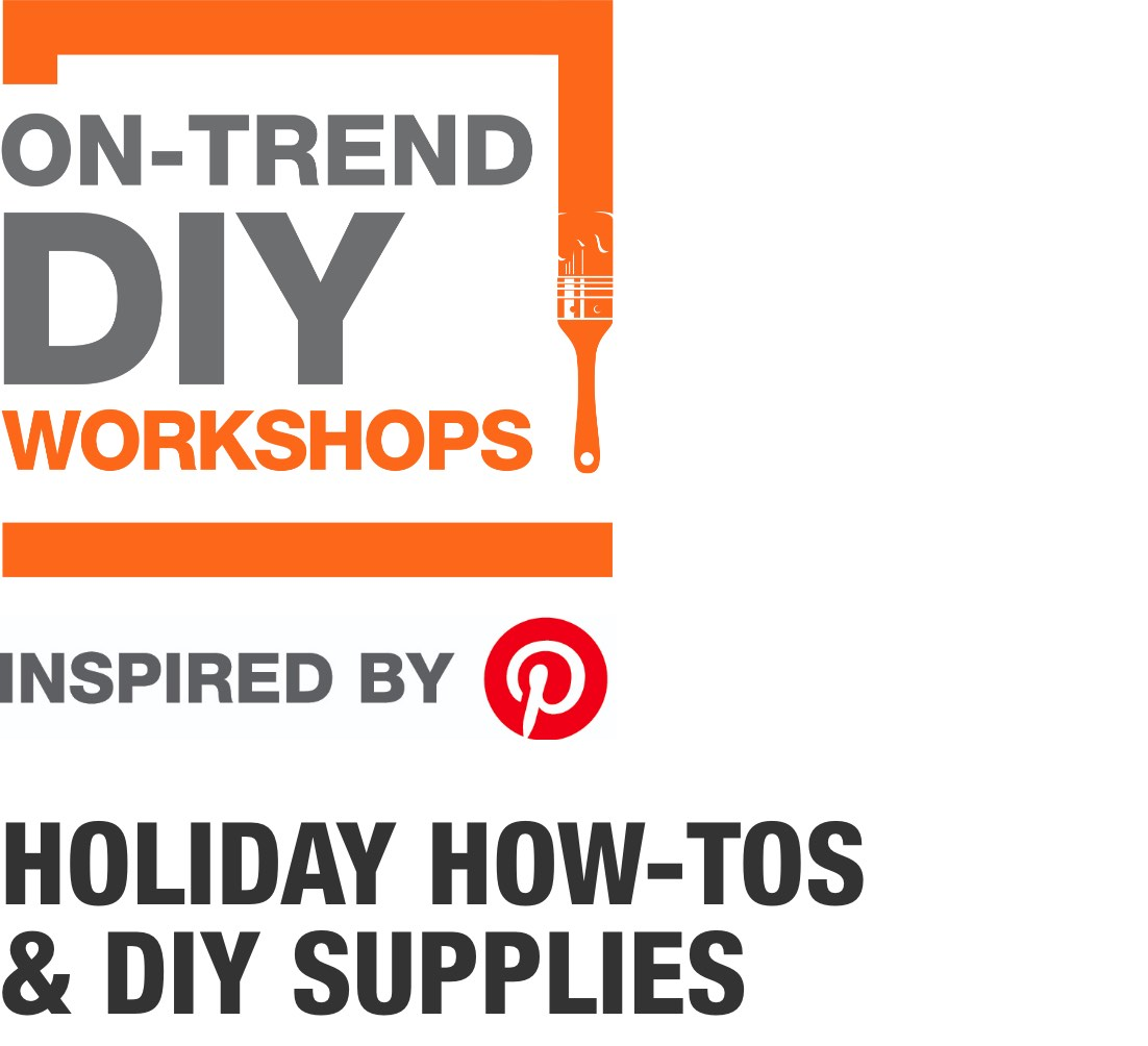 On-Trend DIY Workshops Inspired by PInterest. Holiday How-Tos & DIY Supplies