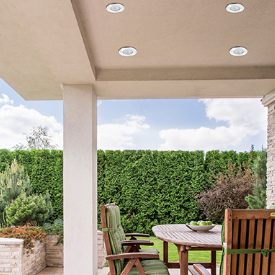 Outdoor Made to withstand the outdoor elements
