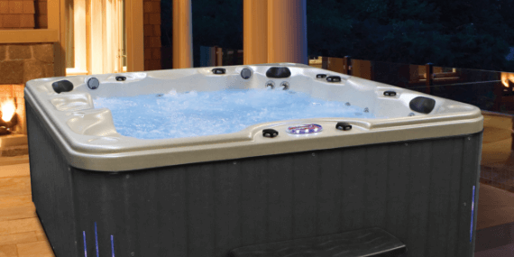 Hot Tub Spas Home Saunas The Home Depot