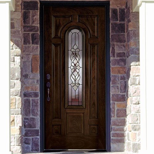 Midcentury front doors