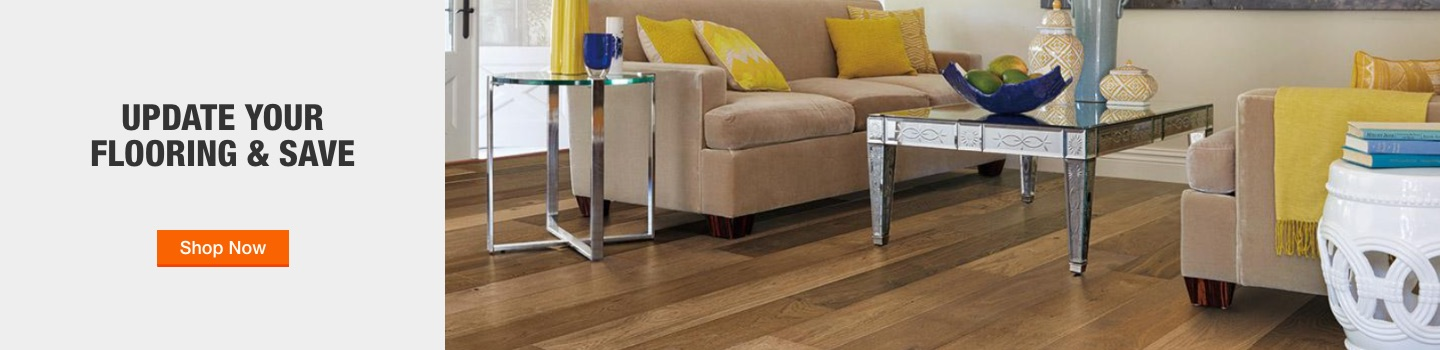 Update your Flooring and Save. Shop Now