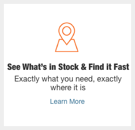 see what's in stock & fine it fast