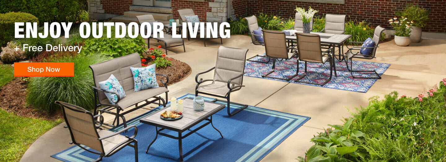 ENJOY OUTDOOR LIVING + Free Delivery