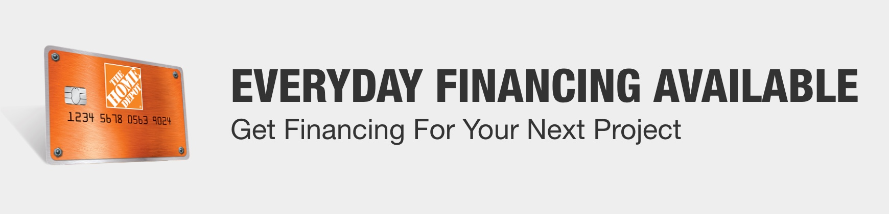 Get Financing For Your Next Project