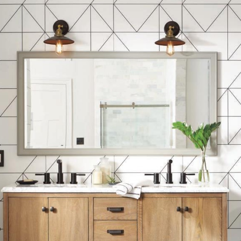 Up to 40% off Select Bath Mirrors