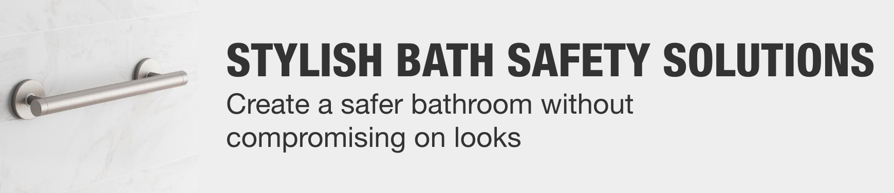 Install Bath Safety Solutions Without Compromising Style