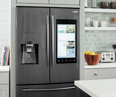 Smart home refrigerators