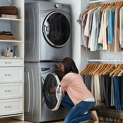 Stackable Washers & Dryers