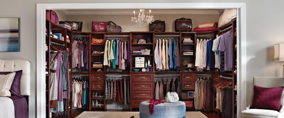 Custom ClosetMaid Closets