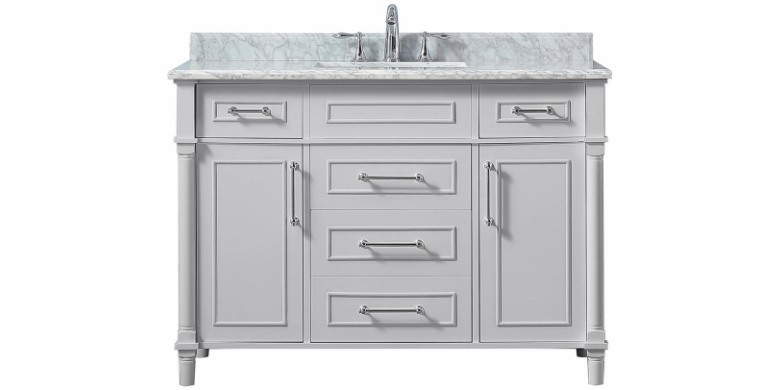 Bath vanities 42 to 48 inches wide