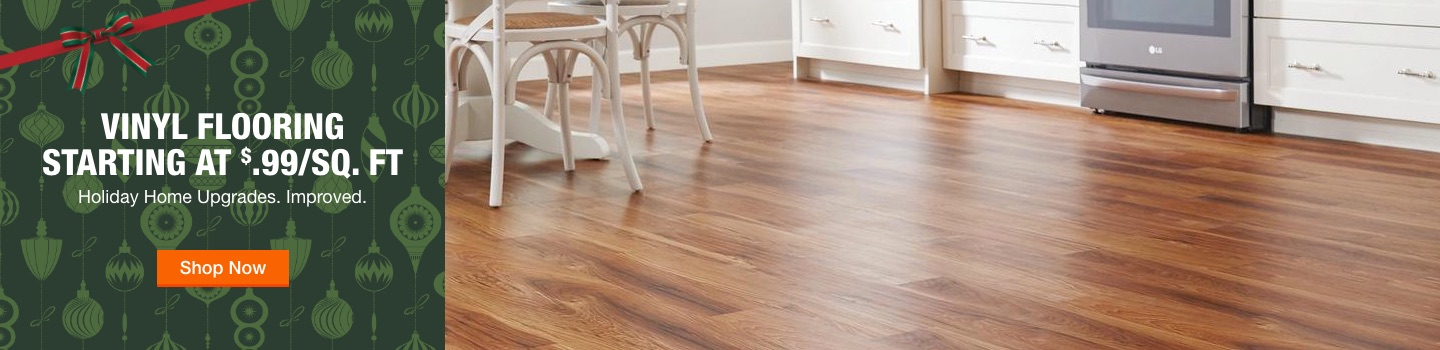 Vinyl Flooring Starting at $.99/sq. ft Holiday Home Upgrades. Improved. Shop Now