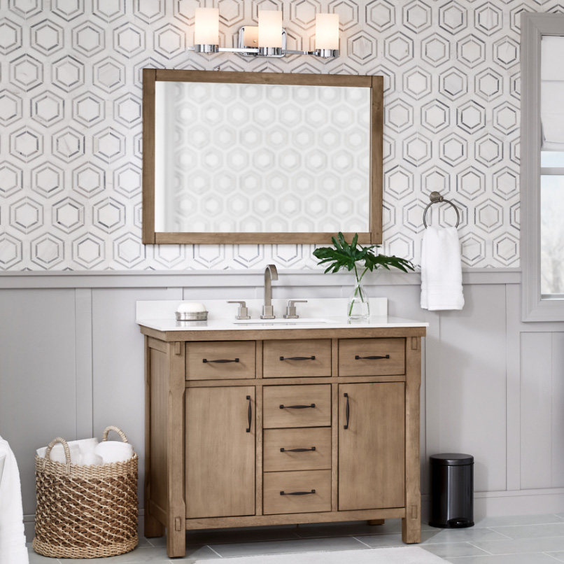 Up to 40% off Select Vanities