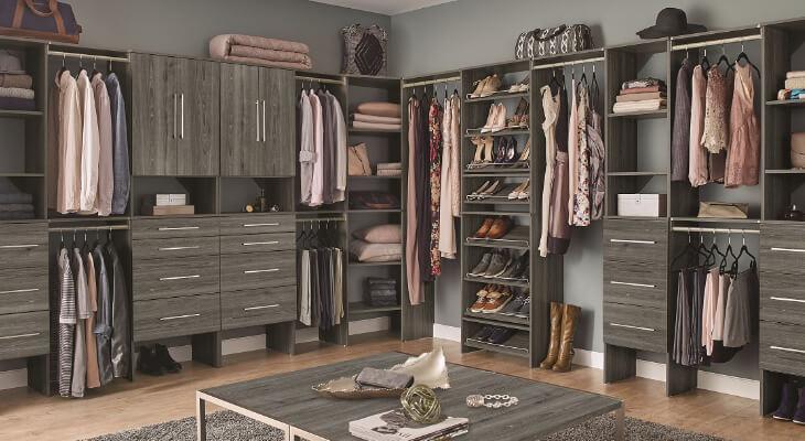 Wood Closet Systems