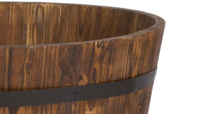 Wood Pots and Planters