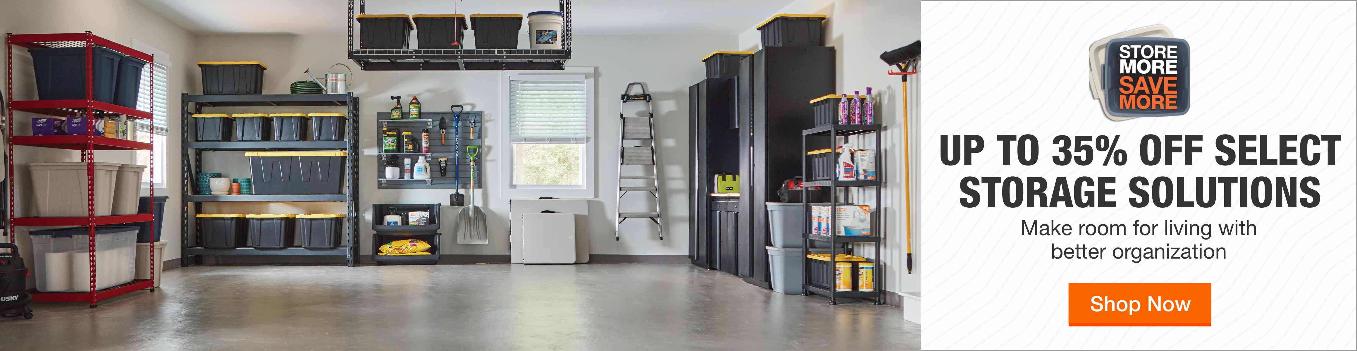 Storage & Organization - Up to 35% off Select Storage Solutions