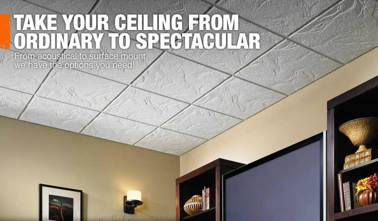 Ceiling Tiles Drop Panels And
