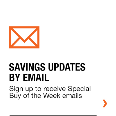 savings by email