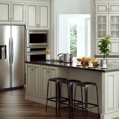 kitchen colors pictures kitchen cabinets color gallery at the home depot 3394
