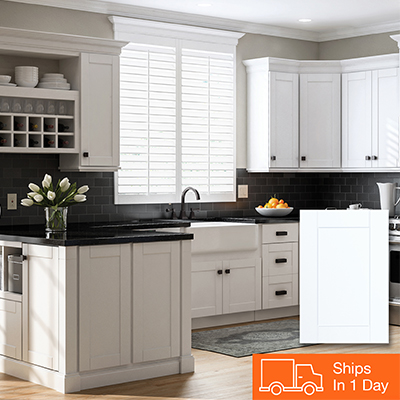 kitchen cabinets color gallery at the home depot rh homedepot com best white color for kitchen cabinets white gray kitchen cabinets