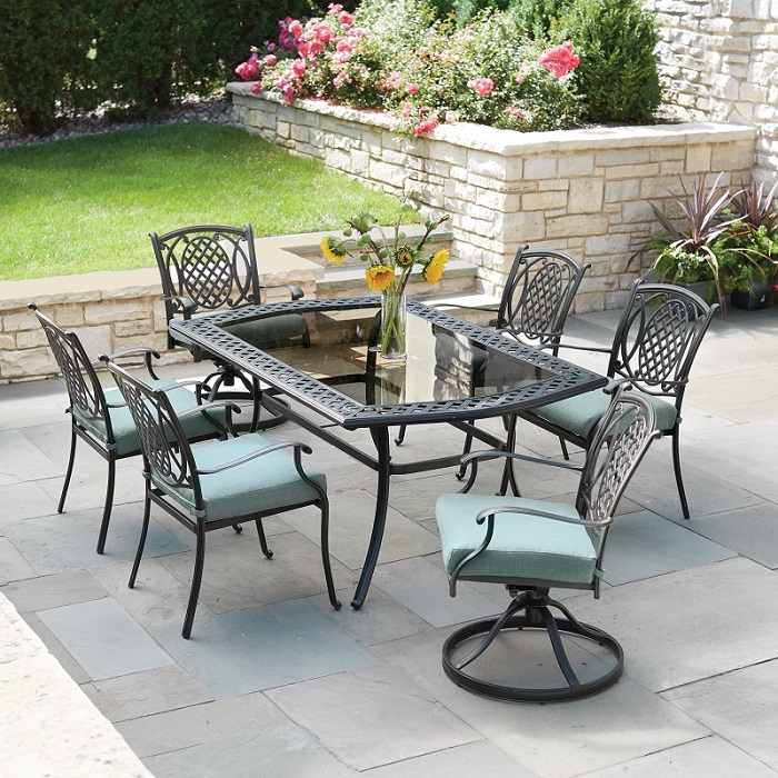 home depot patio table Belcourt Collection – Outdoors – The Home Depot home depot patio table