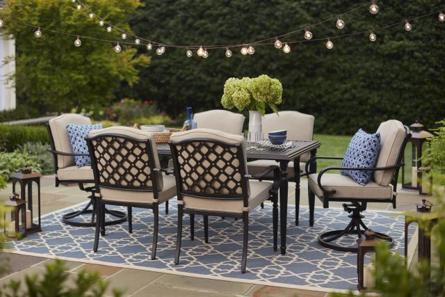 Laurel Oaks Collection Outdoors The Home Depot