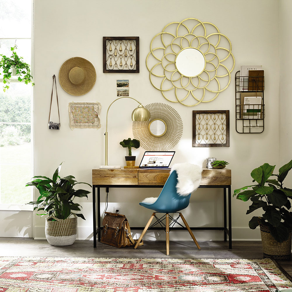 Boho Bungalow Office Home Office The Home Depot